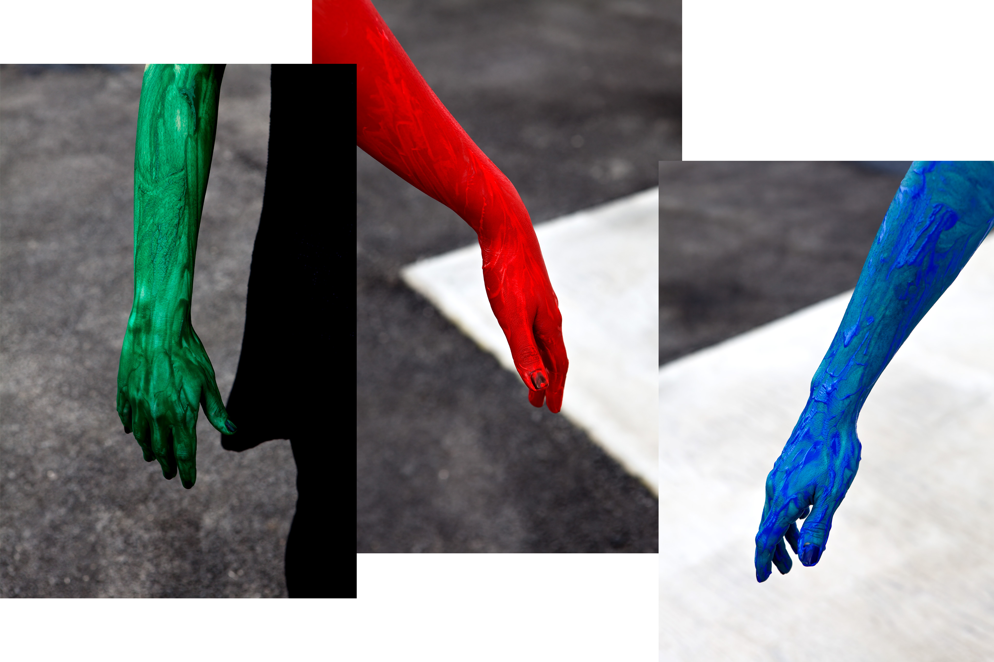 'RGB HANDS' BY MICHAEL KORONIS